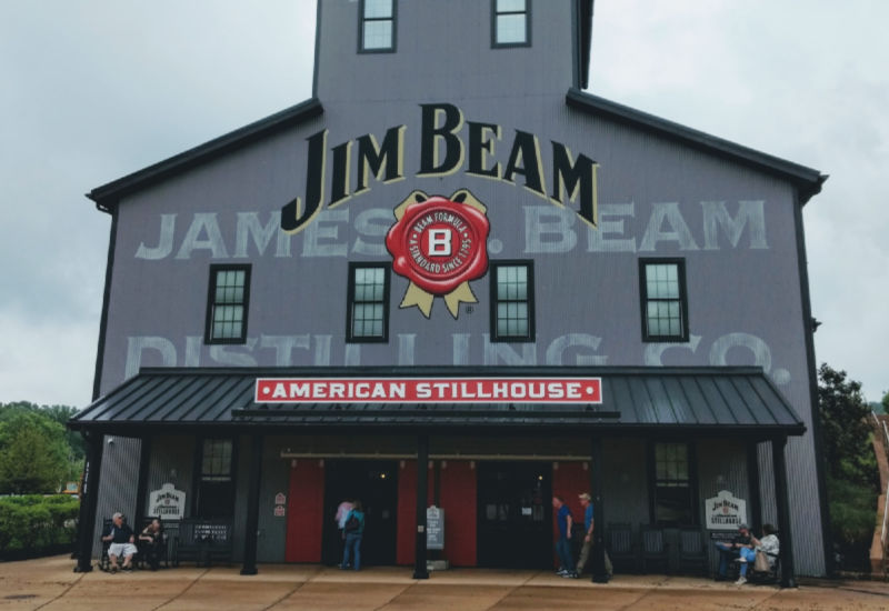 James Beam Distilling Frontage